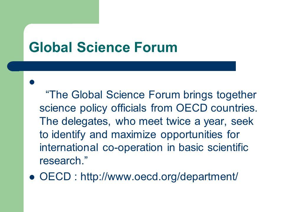 Global Science Forum