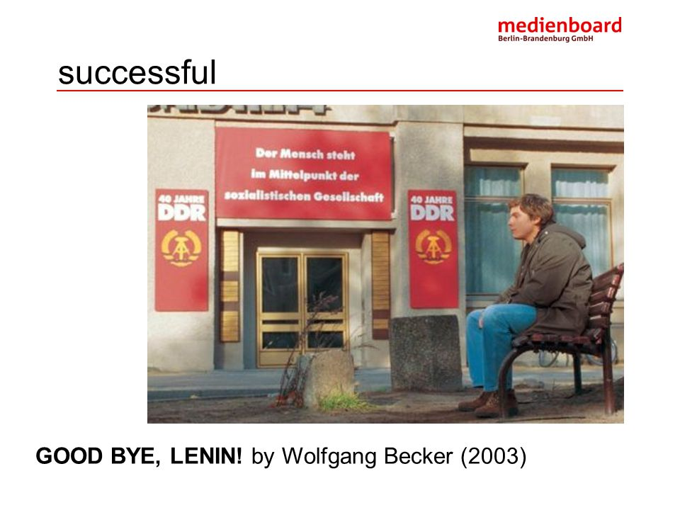 successful GOOD BYE, LENIN! by Wolfgang Becker (2003)