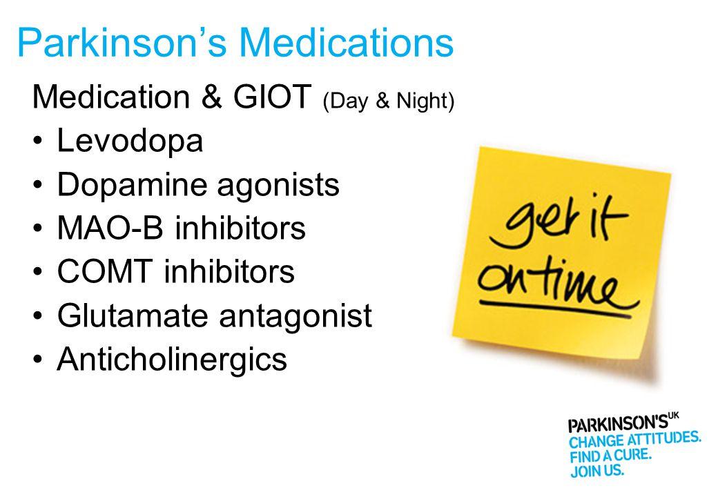 Parkinson's Medications