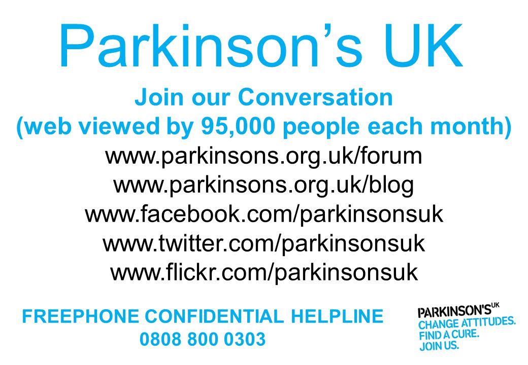 Parkinson's UK Join our Conversation