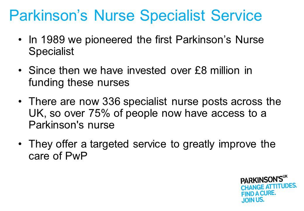 Parkinson's Nurse Specialist Service