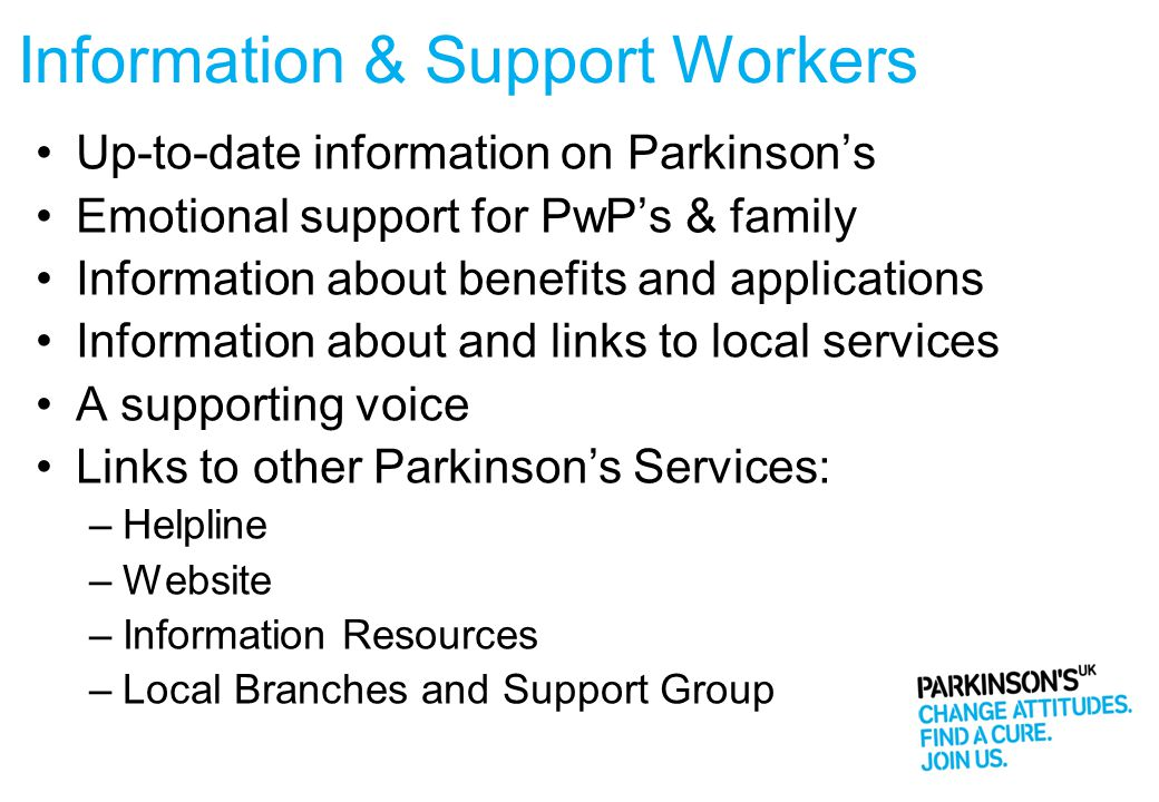 Information & Support Workers