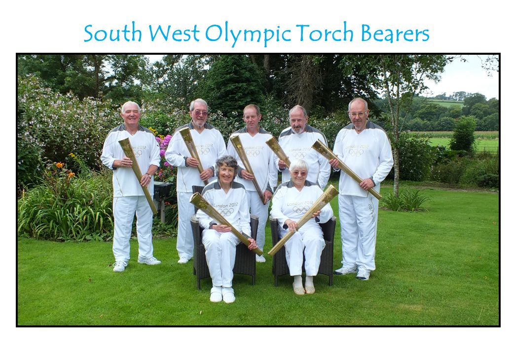 South West Olympic Torch Bearers David Denmead (Cornwall)