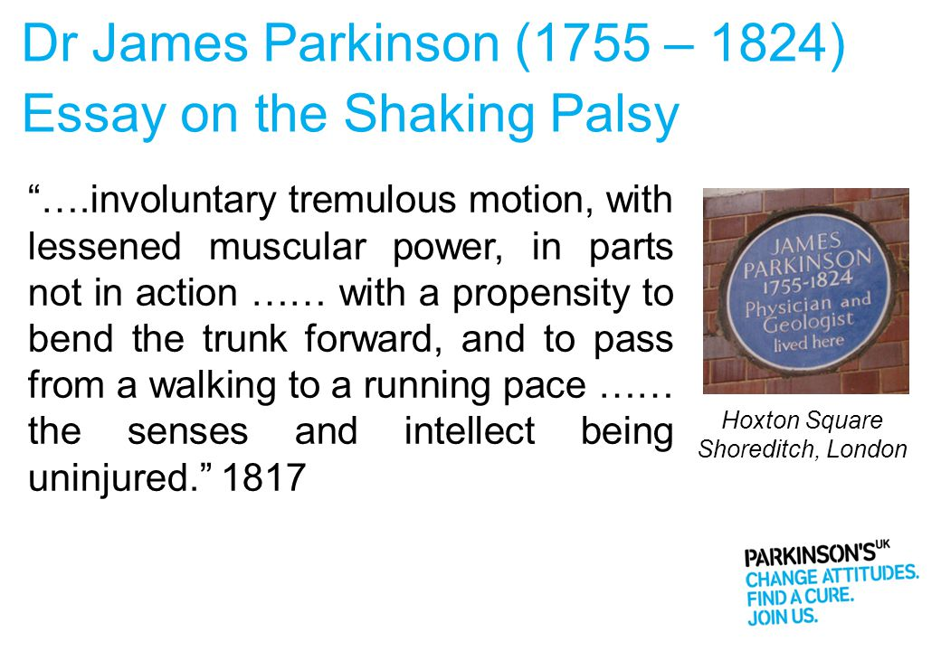 Essay on the Shaking Palsy