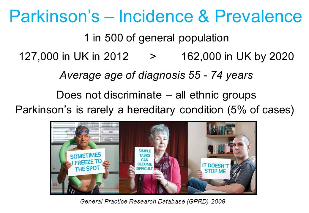 Parkinson's – Incidence & Prevalence