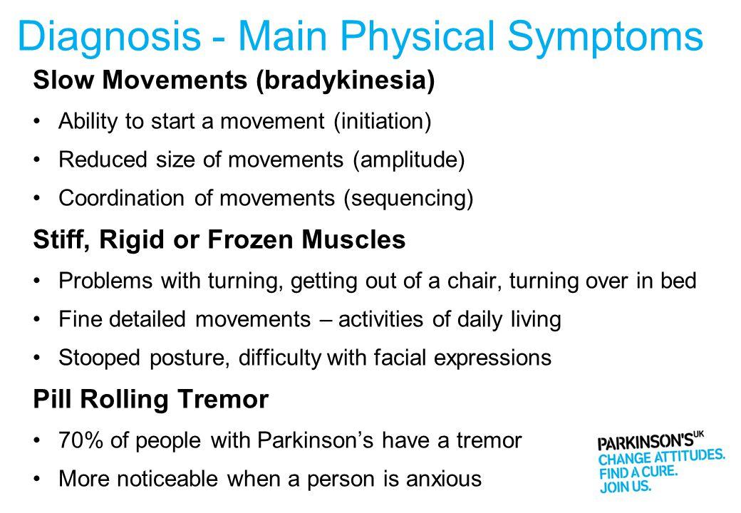 Diagnosis - Main Physical Symptoms