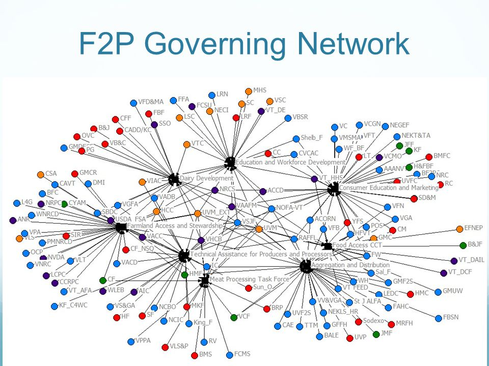 F2P Governing Network