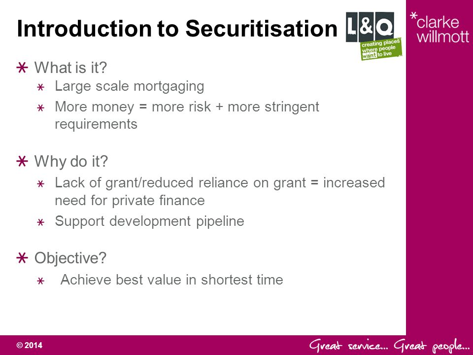 Introduction to Securitisation