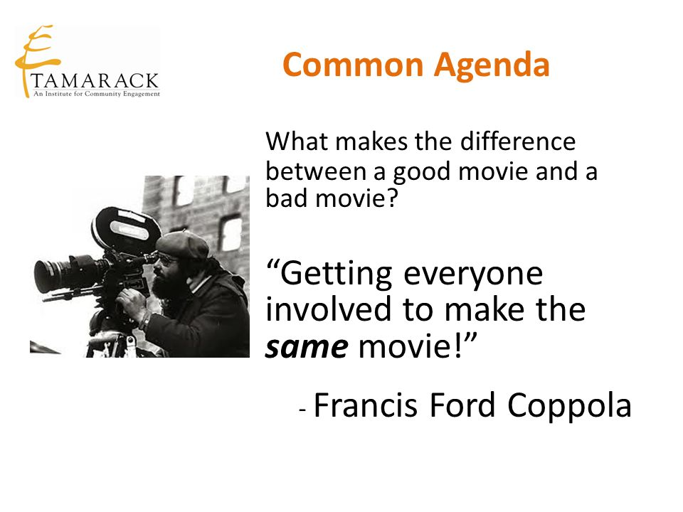 What makes the difference between a good movie and a bad movie