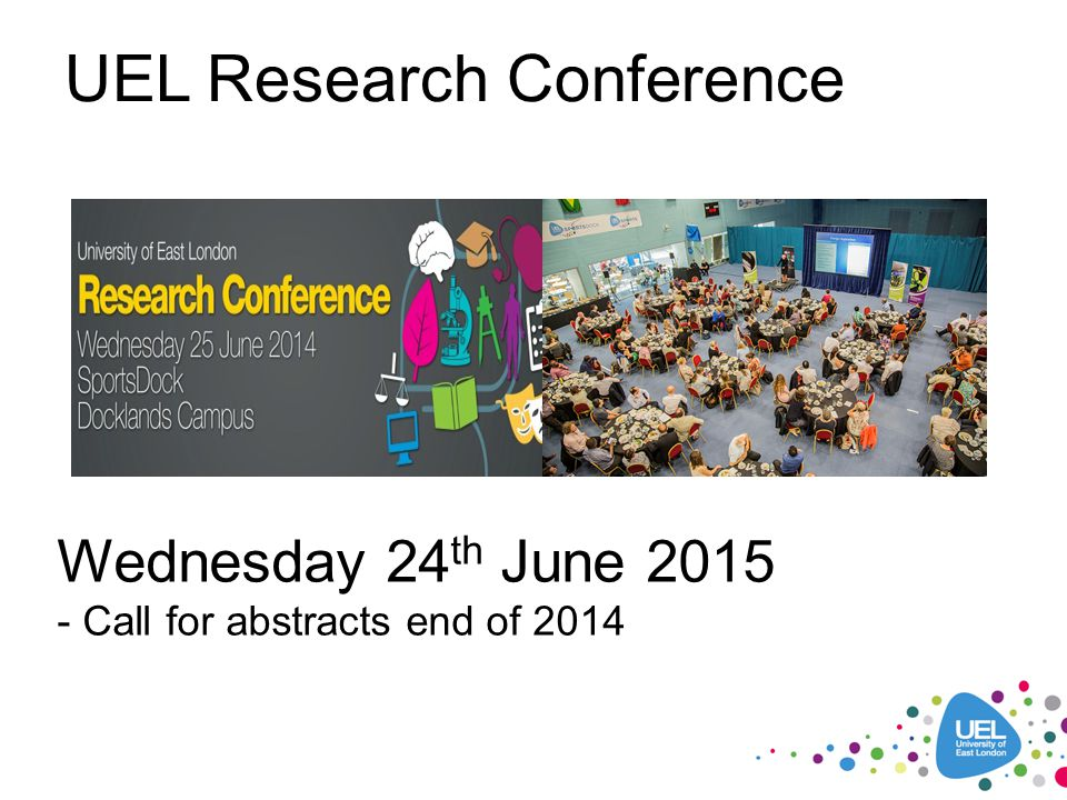 UEL Research Conference