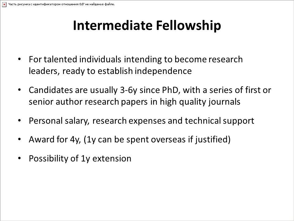 Intermediate Fellowship