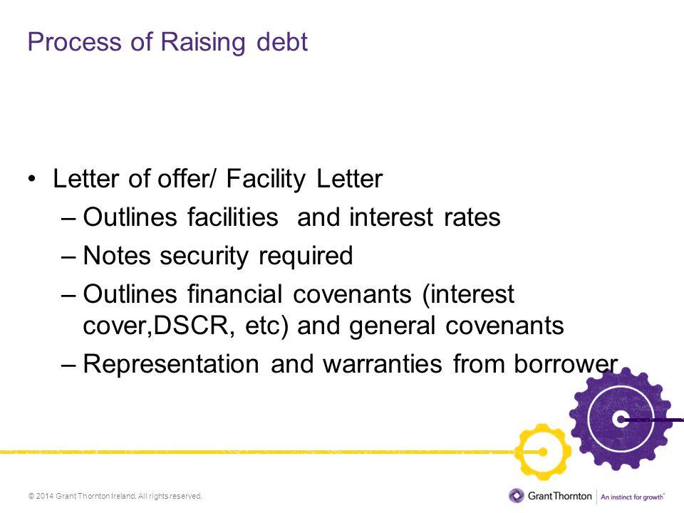 Process of Raising debt