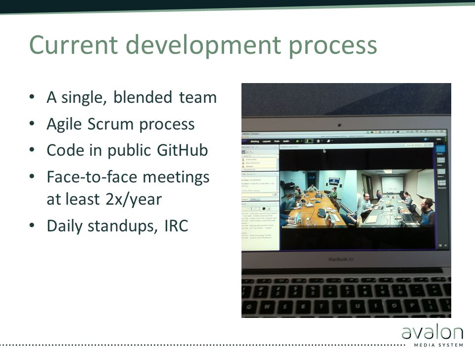 Current development process