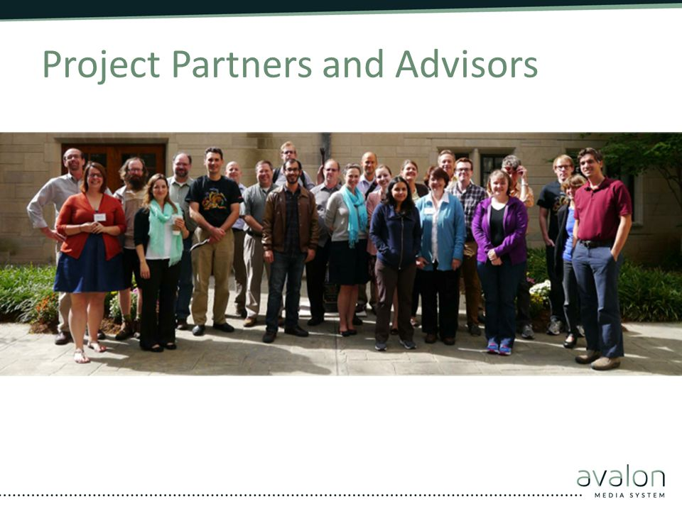 Project Partners and Advisors