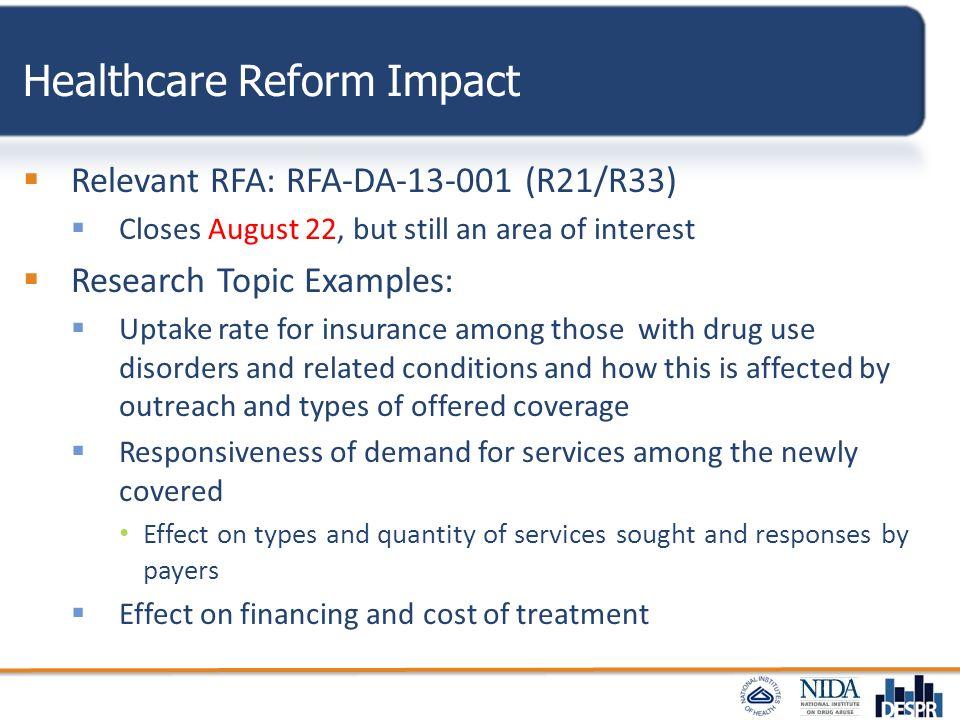 Healthcare Reform Impact
