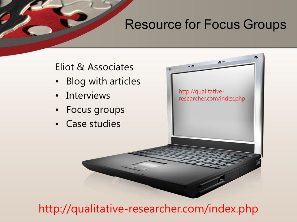 Resource for Focus Groups
