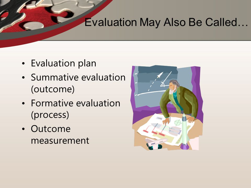 Evaluation May Also Be Called…