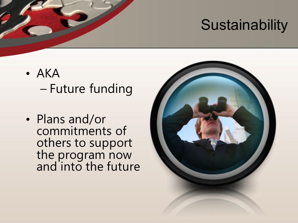 Sustainability Future funding AKA