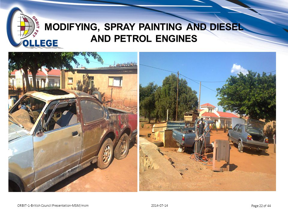 MODIFYING, SPRAY PAINTING AND DIESEL AND PETROL ENGINES