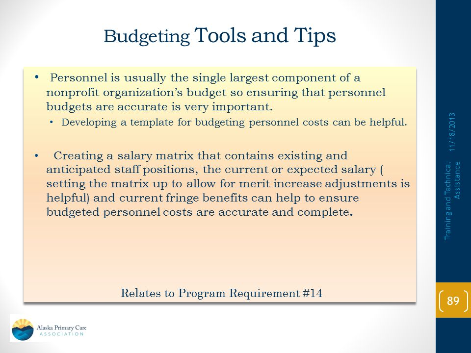 Budgeting Tools and Tips