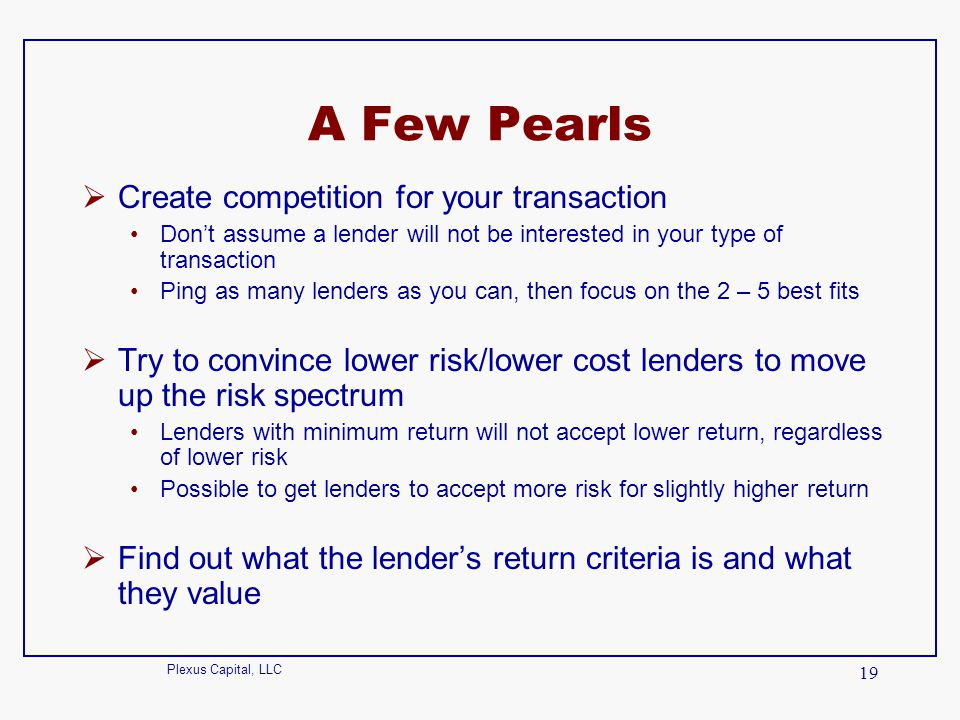 A Few Pearls Create competition for your transaction