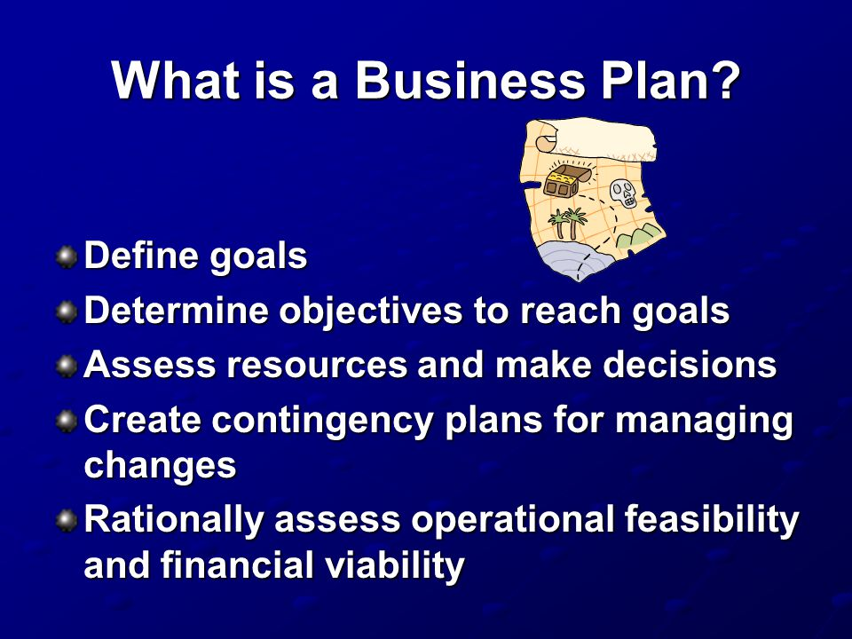 What is a Business Plan Define goals