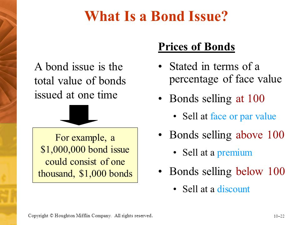 What Is a Bond Issue Prices of Bonds