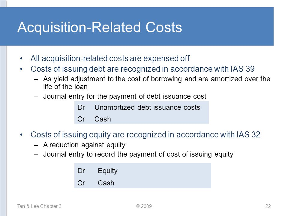 Acquisition-Related Costs