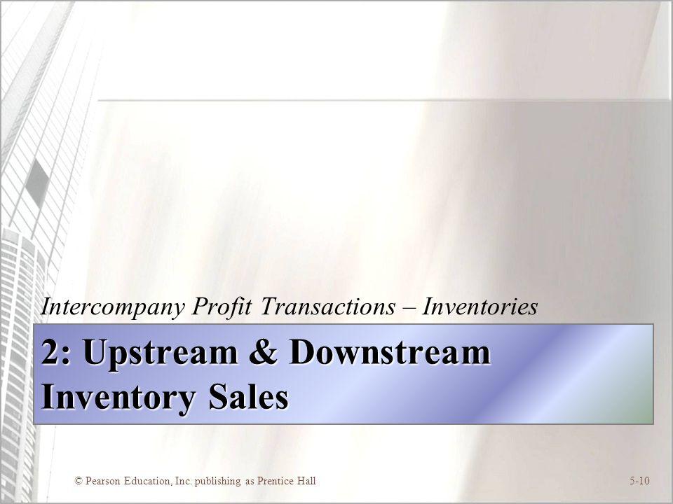 2: Upstream & Downstream Inventory Sales