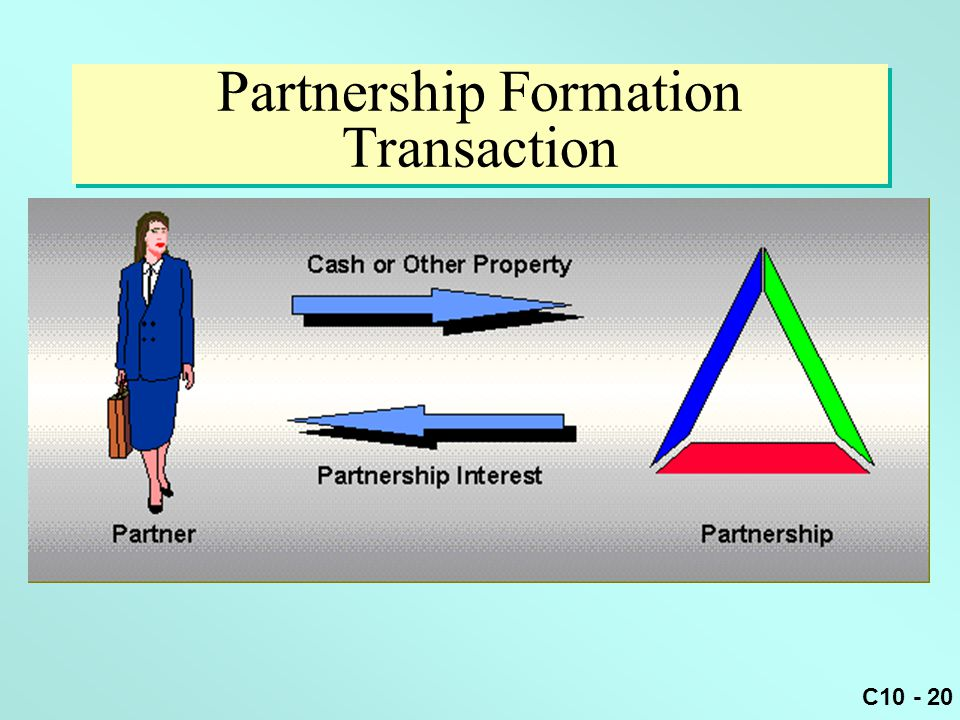 Partnership Formation Transaction