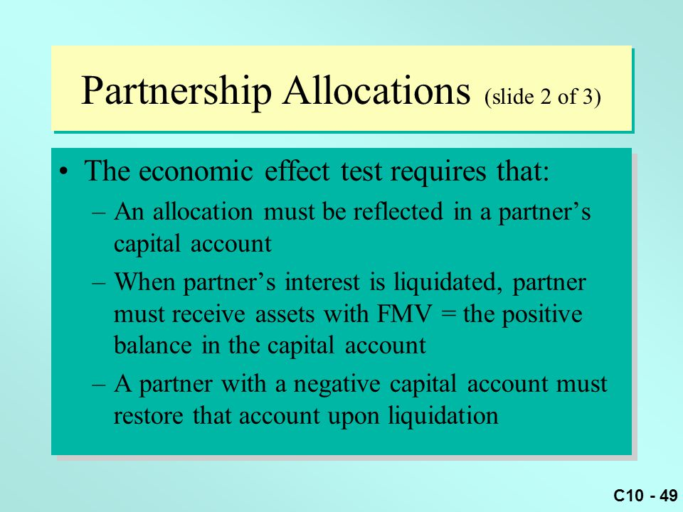 Partnership Allocations (slide 2 of 3)