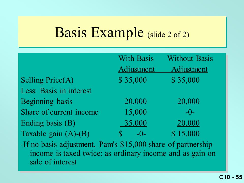 Basis Example (slide 2 of 2)