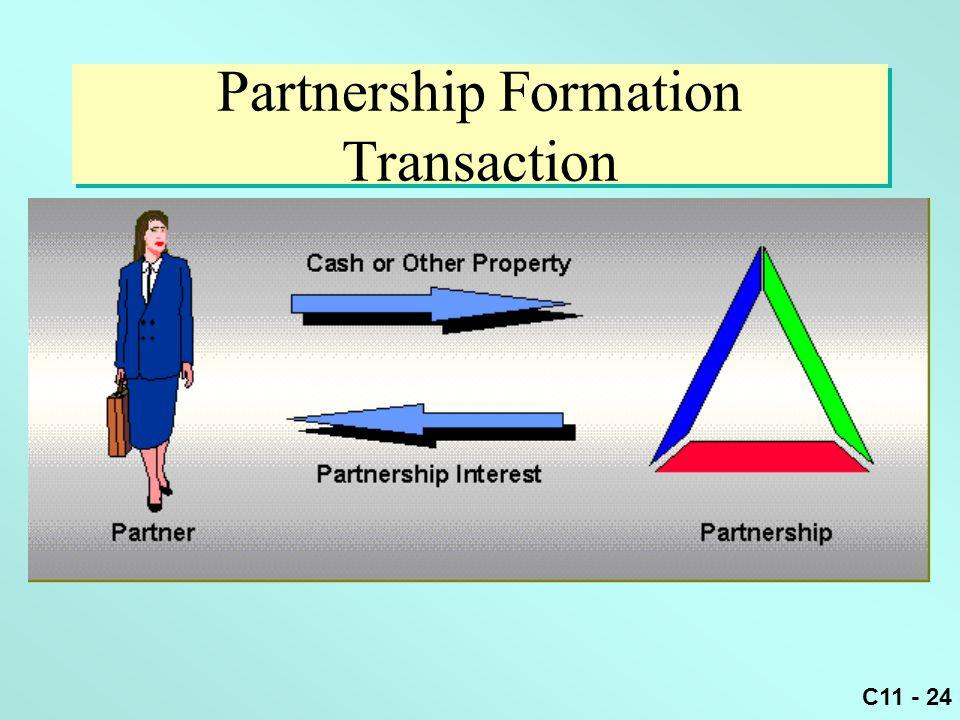 Partnership Formation Transaction