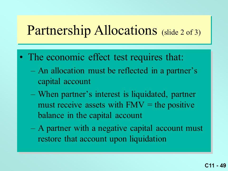 Partnership Allocations (slide 2 of 3)