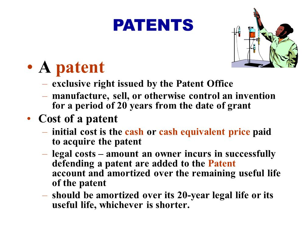 A patent PATENTS Cost of a patent