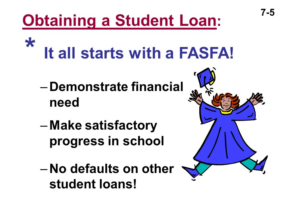 Obtaining a Student Loan: