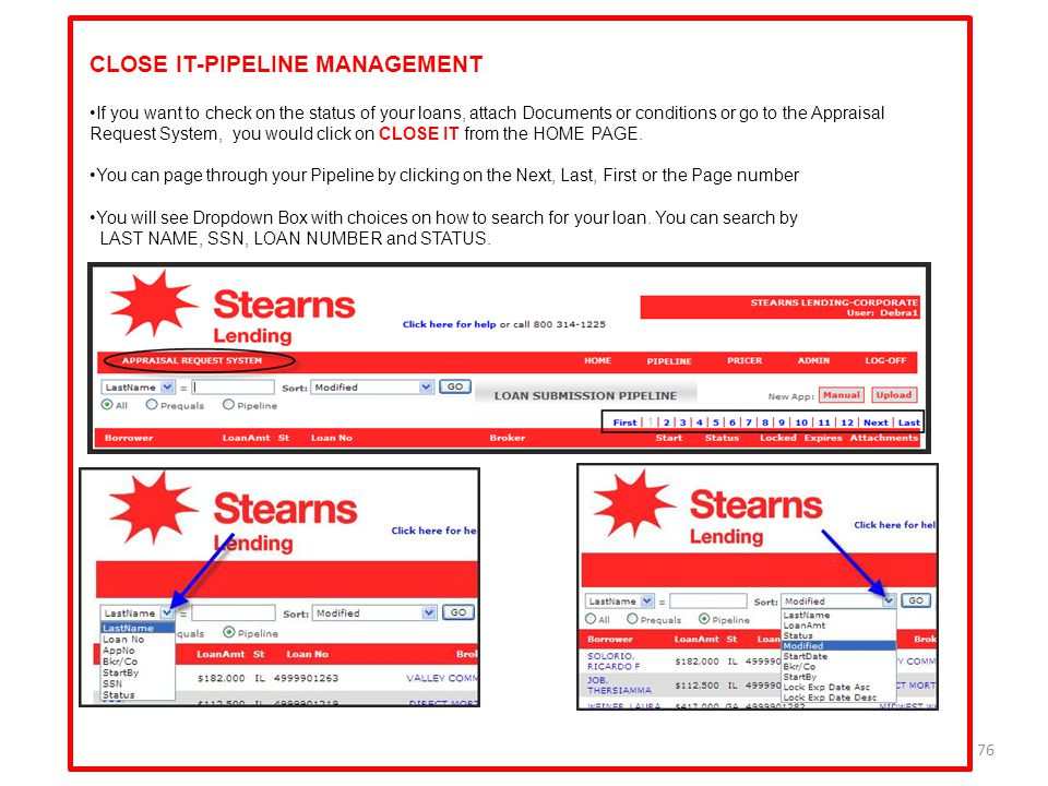 CLOSE IT-PIPELINE MANAGEMENT