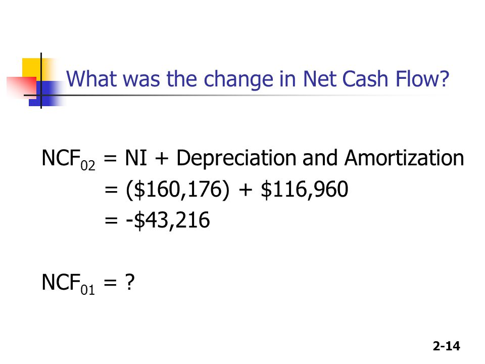 What was the change in Net Cash Flow