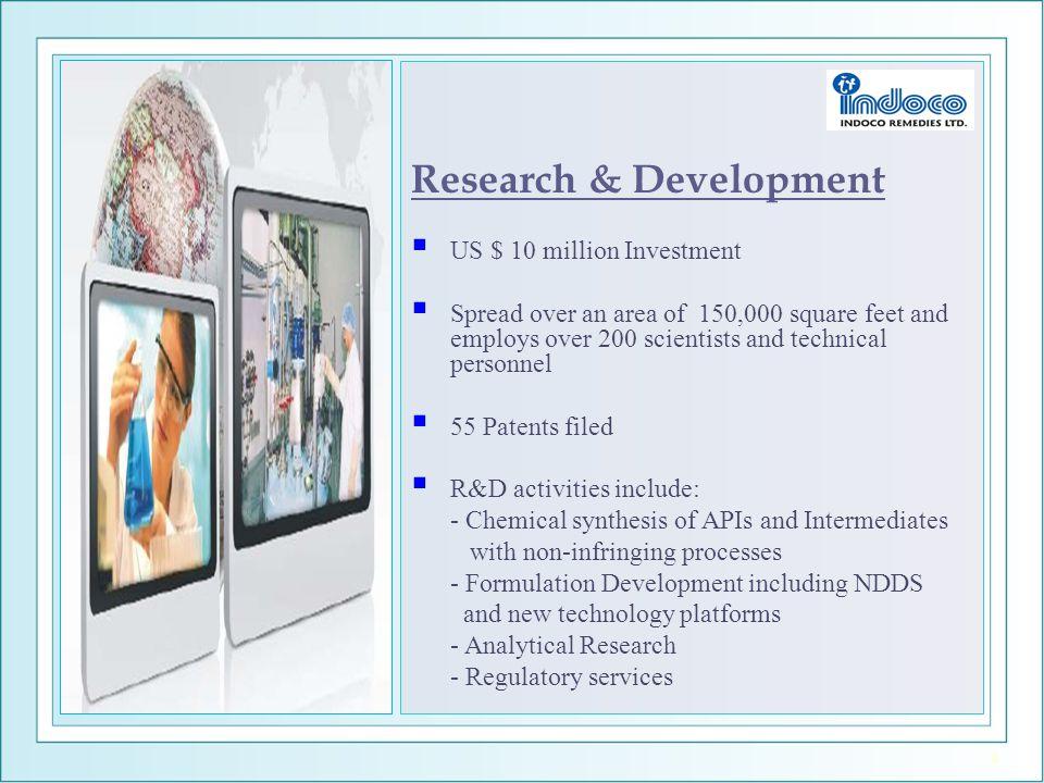 Research & Development