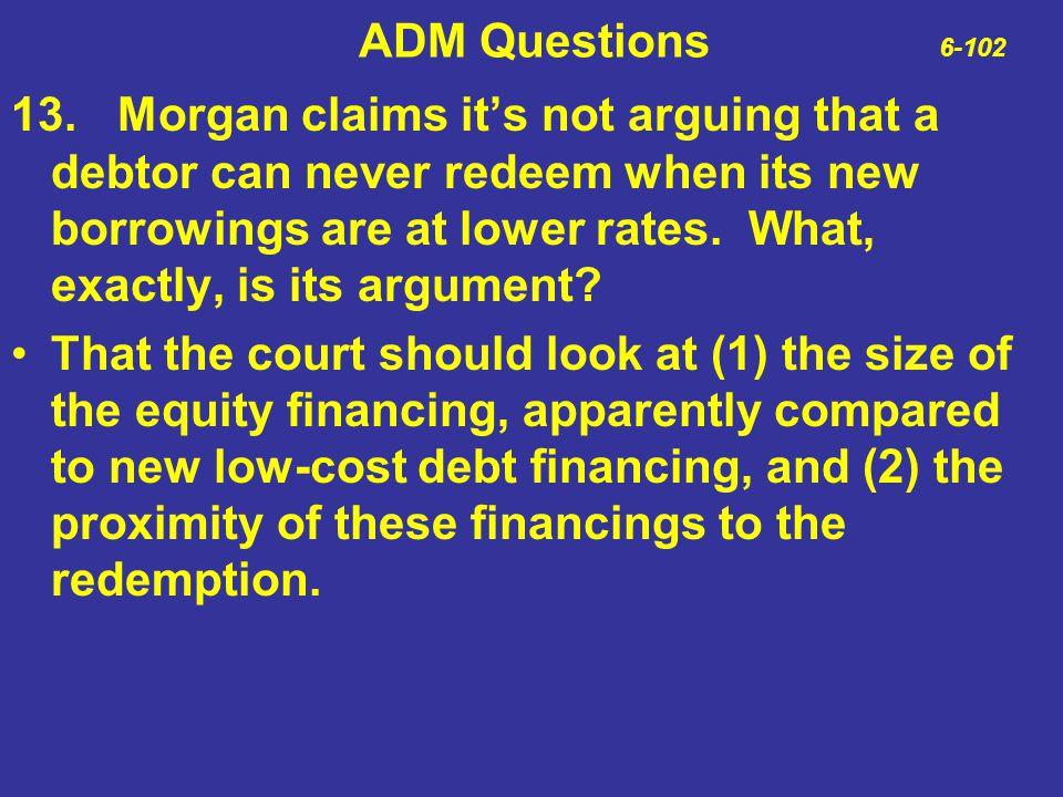 ADM Questions 6-102