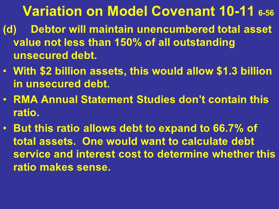 Variation on Model Covenant 10-11 6-56