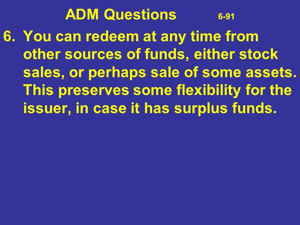 ADM Questions 6-91