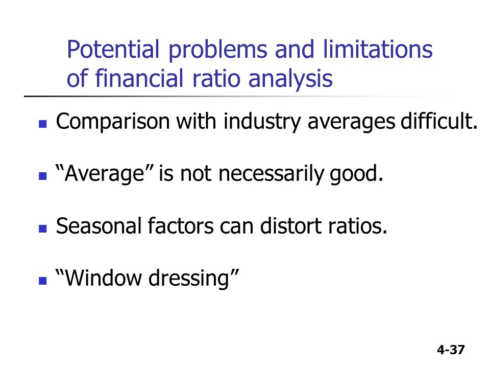 The Disadvantages of Financial Window Dressing