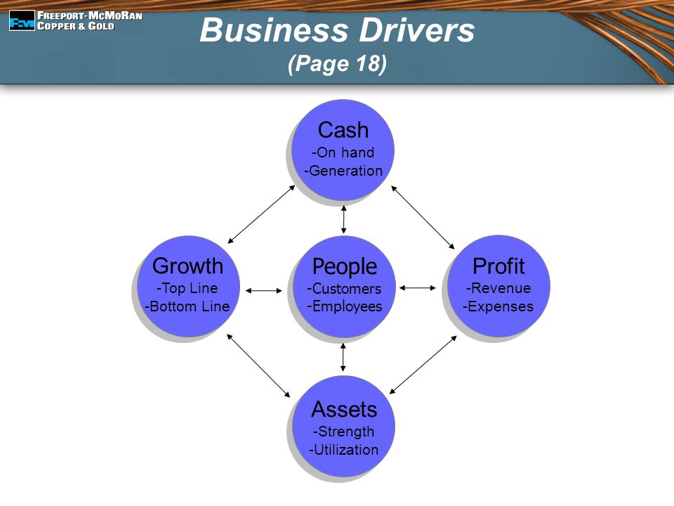Business Drivers (Page 18)
