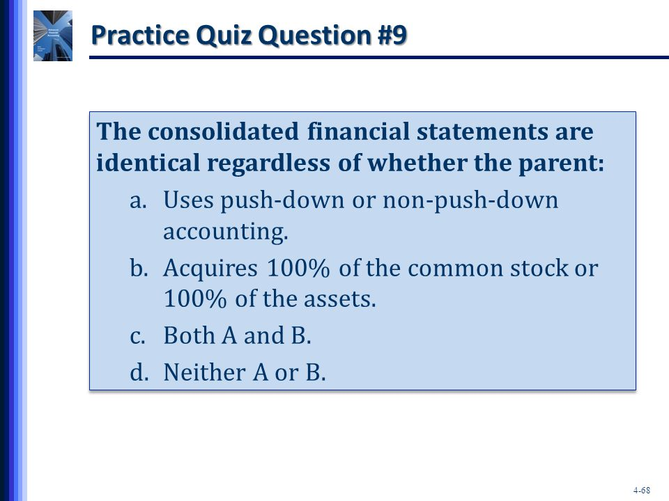Practice Quiz Question #9