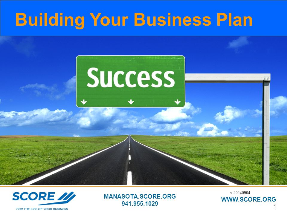 Building Your Business Plan