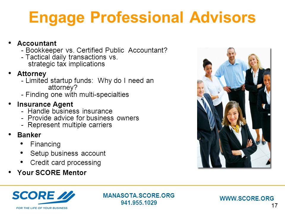 Engage Professional Advisors