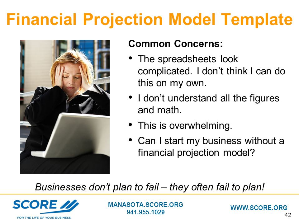 Financial Projection Model Template