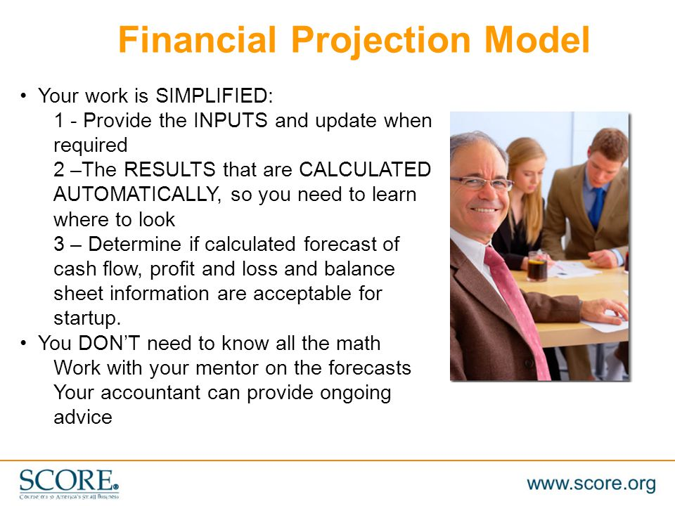 Financial Projection Model