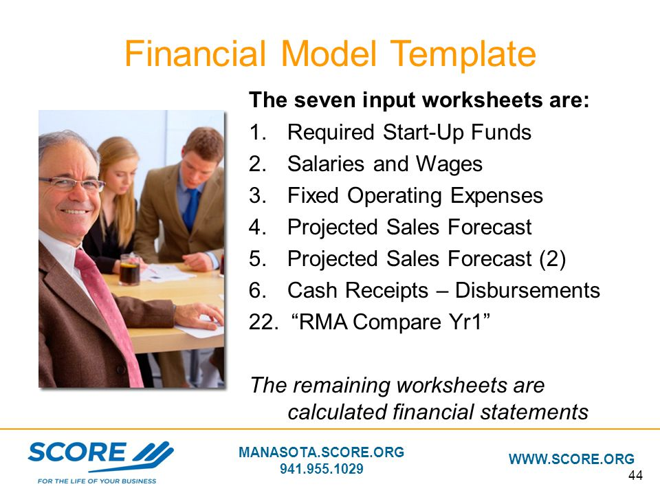 Financial Model Template